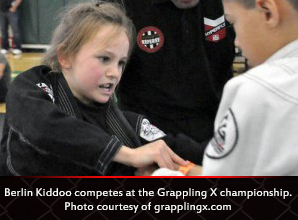 competes at the Grappling X championship. Photo courtesy of grapplingx.com